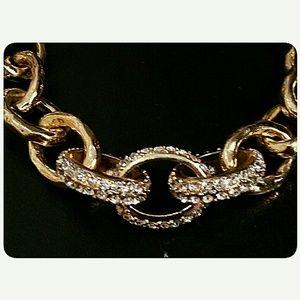 Pure Jewelry - 3/$30 Chunky Goldtone Statement Necklace Set